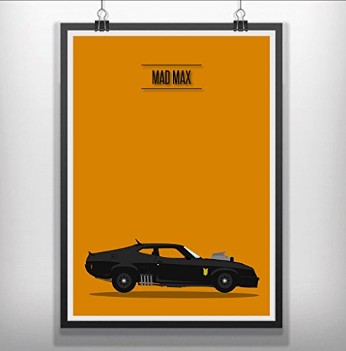 minimal-prints mad max minimal minimalist movie film print poster