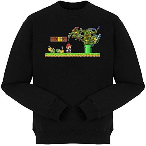 Sudadera Comics - Parodia de Tortugas Ninja y Super Mario Bros (427)