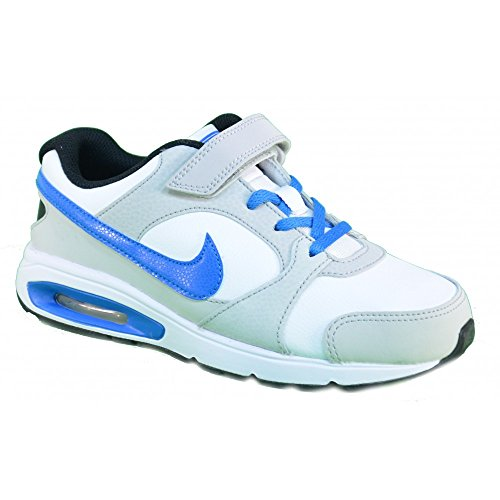 Nike - Nike Air Max Coliseum Rcr Psv Scarpe Bianche Pelle 554984 - Blanc, 28
