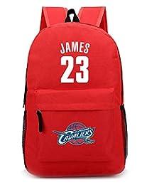 b11cae289d SJYMKYC Aficionado Al Baloncesto Bolso Escolar LeBron James Mochila Bolsa  De Mensajero Bolsa De Hombro Bolsa