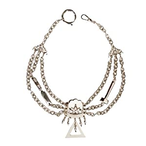 Zimmermann Perlmutterkette – Zunft-Schmuckkette, vernickelt, DAK