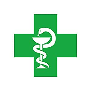 ISEE 360 Pharmacist Logo Plus Reflective Car Decal Sticker ...