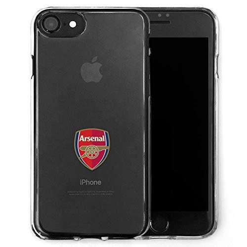 Arsenal FC Football Club TPU Clear Iphone 7 Cover Case