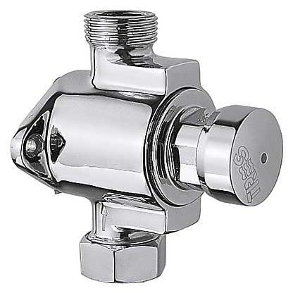 Grifo de ducha alimentación exterior por parte inferior, entrada y salida con tuerca y junta para tubo 13×1516l/m.
