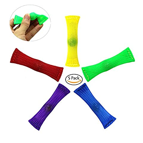 FC MXBB 5Pack Fidget Toy Mesh and Marble Stress Relieve And Anxiety for Children and Adults With ADHD ADD OCD Autism Depressions and Anxiety