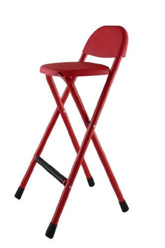 Bar Hocker klappbar rot Easy Chair