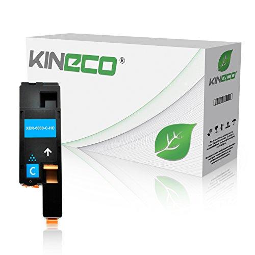 Preisvergleich Produktbild Toner kompatibel zu Xerox Phaser 6000 6010 N, für Xerox WorkCentre 6000 Series, WC 6015 VB VNI - 106R01627 - Cyan 1.400 Seiten