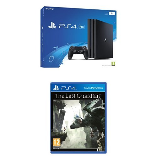 Sony PlayStation 4 Pro 1TB Console + The Last Guardian