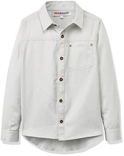 RED WAGON Jungen Long Sleeve Shirt-Mint Hemd, Grün (Mint), 104 (Herstellergröße: 4 Jahre)