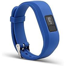 For Garmin Vivofit 3 ,Ouneed ® Inteligente manera del reloj del silicón del deporte de la muñeca de la venda de la correa de pulsera de la hebilla para Garmin Vivofit 3 (Azul oscuro)