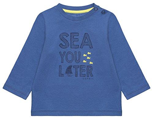 Süße Kleidung Jungs (ESPRIT Baby-Jungen Langarmshirt RL1007202, Blau (Pastel Blue 412), 92)