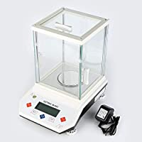 JJHR Jewelry Scale 500/0.001G Analisis Digital Balanza Analítica De Laboratorio De Alta Precisión