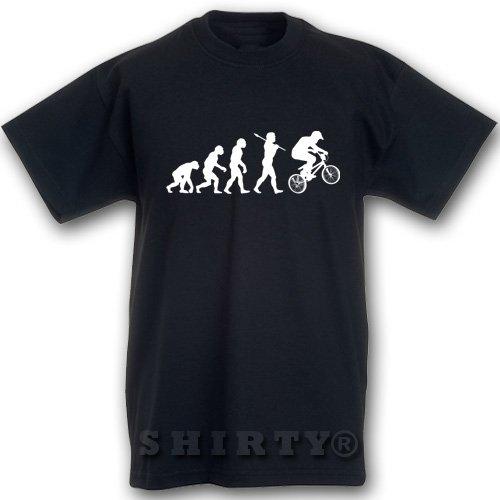 EVOLUTION - Bike - T Shirt - schwarz - S bis 5XL - 501 Schwarz