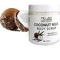Crema exfoliante con crema exfoliante para el cuerpo de leche de coco Crema exfoliante