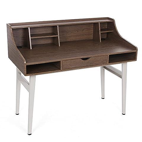 Songmics Bureau informatique Table de bureau avec
