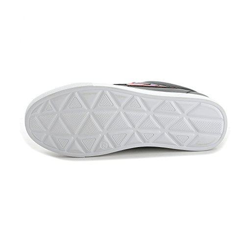 Sportliche Damen Sneakers Low Turnschuhe Flats Schnürer Freizeit Schuhe Schwarz