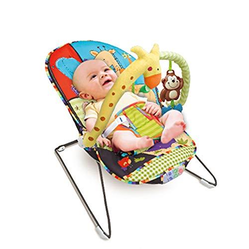 WDXIN Baby Balancín Apaciguar Niño Artefacto Bebe Juguete Apaciguar Silla Mecedora La Musica Vibracion Silla Mecedora.