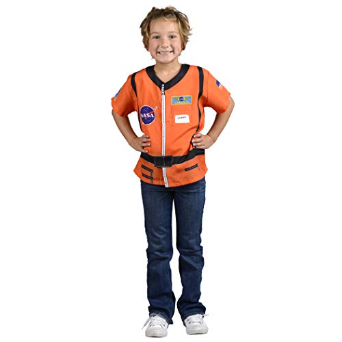 Aeromax Kostüm Orange Astronaut - Aeromax My 1st Career Gear Astronaut with Nasa Logo, Orange