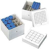 Bb CBOX-016-001 Aufbewahrungskartons für 16 Tuben mit 50 ml, Weiß