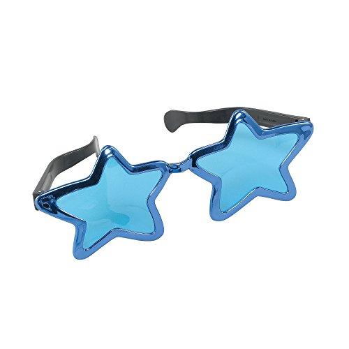 Bristol Novelty GJ339C Jumbo Stern Sonnenbrille, Bunt, unisex-adult, Mehrfarbig, Einheitsgröße