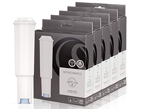 15x Filterpatrone Seltino BIANCO ersatzfilter für Jura Claris White 68739, 5x 3er-Pack!