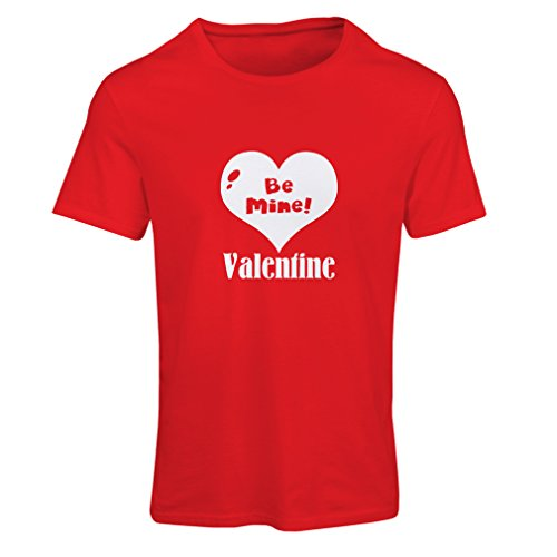 """T-shirt femme """"Soyez ma Valentine - aimez-vous les citations"""", grands cadeaux de Saint-Valentin Rouge Blanc"""