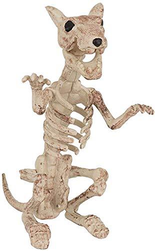 Ausgefallenes Halloween Party Dekorativ Psycho Horror Requisiten Tiere Skelett Dekorationen - Rat Skelton, One size