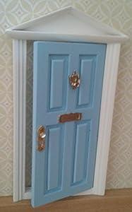 Ratoncito Perez : Puerta Mágica Azul + Pequeña Llave + Postal de Felicitación + Diario para colorear + 2 REGALOs Sorpresa de Puertadelratoncitoperez.com