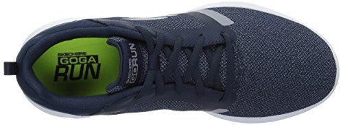 Skechers Go Run 600-Revel, Scarpe Sportive Indoor Donna Blu (Navy)