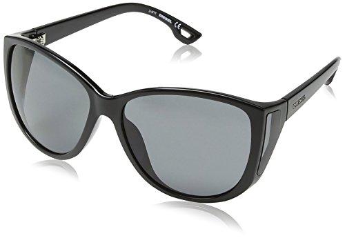 Diesel - occhiali da sole dl0005 wayfarer, grigio (shiny black frame / gradient grey)