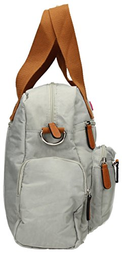 SwankySwans - Max, Borse a Tracolla Donna Pale Grey