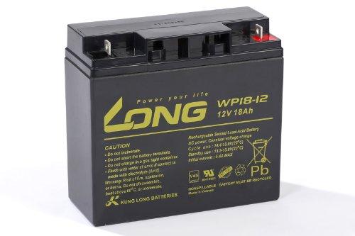 Preisvergleich Produktbild Blei Akku Batterie Kung Long 12V 18Ah 12Volt 18Ah wie 17Ah, 19Ah, 20Ah, 22Ah VdS geprüft