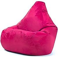 Hi-BagZ–Puf de Exterior Alta–Silla jardín Bean Bag Bazaar Rosa–100% Resistente al Agua