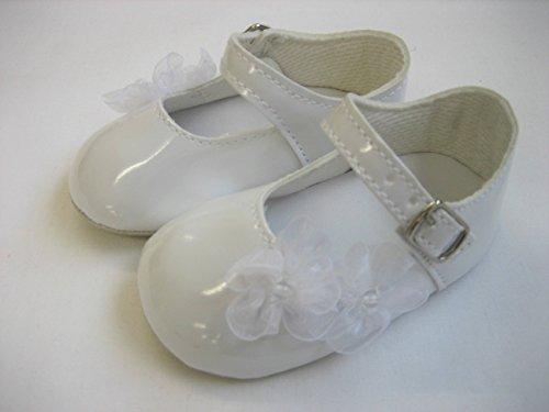 Little Jems , Chaussures souples pour bébé (fille) blanc 1-3 Months
