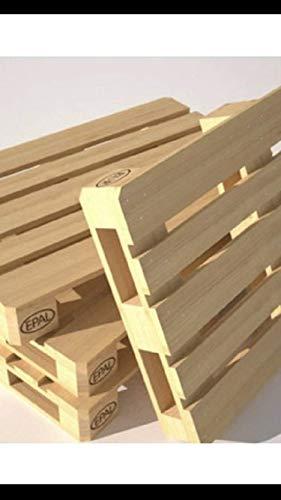 Pallet madera nuevo jardín