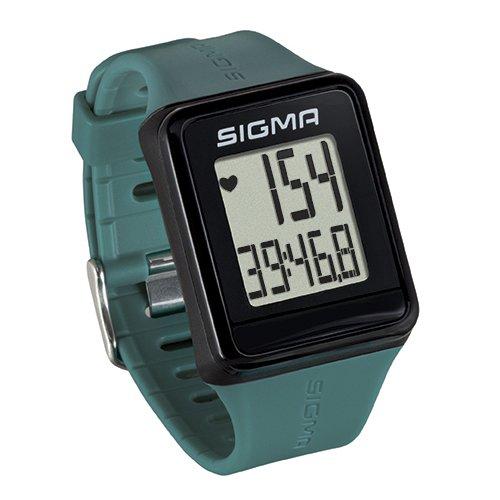 Sigma Sport Pulsuhr iD.GO pine green, Herzfrequenz-Messung, Fitness-Laufuhr, Grün