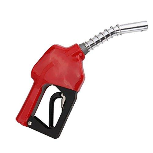 MagiDeal Combustible Gasolina Diesel Auto Delivery Pistola Dispensador de Manguera de Boquilla - Rojo