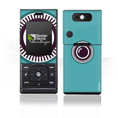 Samsung Adidas F110 Case Skin Sticker aus Vinyl-Folie Aufkleber Kamera Auge Symbol (Adidas-symbol)