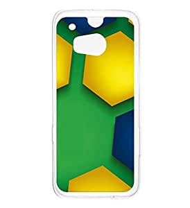 a AND b Designer Printed Mobile Back Cover / Back Case For HTC One M8 (HTC_M8_2460)