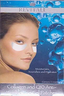 Revitale Anti-Wrinkle Eye Gel Patches (5 Treatments) from Revitale