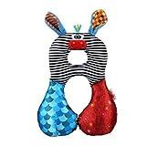 Newin Star Cuscino da viaggio per bambini Supporto infantile cuscino supporto del collo Poggiacapo infantile (asino)