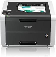 Brother HL-3152CDW Kompakter Farbdrucker (Drucken, A4, 18 Seiten/Min., 2.400x600 dpi, LAN, WLAN, Duplexdruck, Print AirBag für 150.000 Seiten)