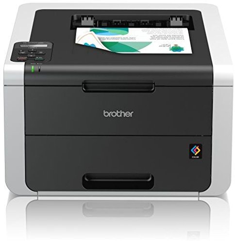 Brother HL-3152CDW High-Speed Duplex-Farbdrucker (LAN/WLAN) weiß/dunkelgrau