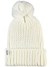 Bench Damen Strickmütze Turn Up Fur Pom Beanie