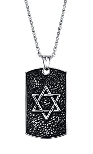 vnox-mens-stainless-steel-vintage-gothic-jewish-star-of-david-dog-tag-pendant-necklace-silver-blackf