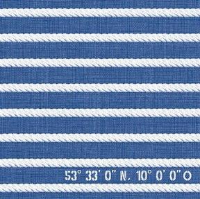 """Preisvergleich Produktbild Serviette """"Santorini"""" - 3-lagig - 33 x 33 cm - 1/4-falz - 50 Stück/Paket"""