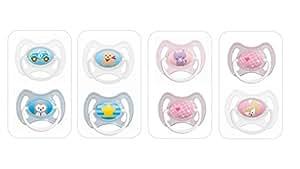 MAM Sucette Anneau - de 0 à 6 mois - Silicone - Lot de 2 - coloris aléatoire