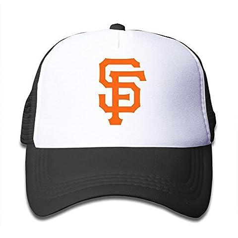 XCarmen Personalized San Francisco Giants Baseball Baby Kids Caps Pink Black
