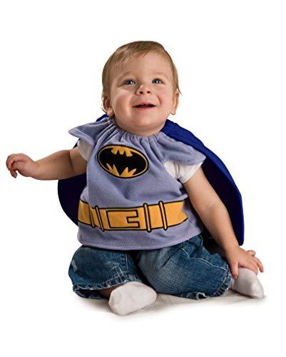 Lizenziertes Batman Babykostüm, 0-9 - 0 3 Monat Superheld Kostüm