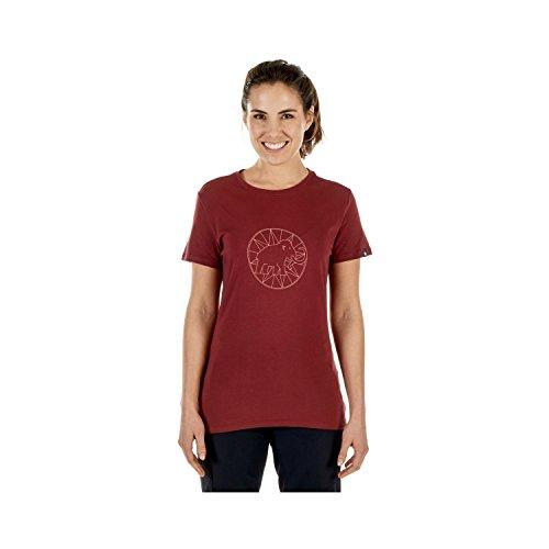 Mammut Damen T-Shirt Logo Shirts, Merlot-Rose, M (Mammut Logo-shirt)
